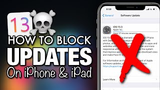 how to disable updates on iPhone and iPad