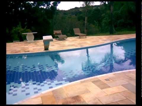 Obra de piscina em concreto armado campestre piscinas - Cemento para piscinas ...