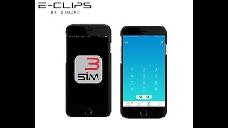 E-Clips - How to make and receive calls with E-Clips Triple Dual SIM active online adapter - SIMore