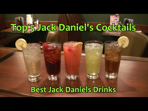 Top 5 Jack Daniels Cocktails Best Jack Daniel's Drinks