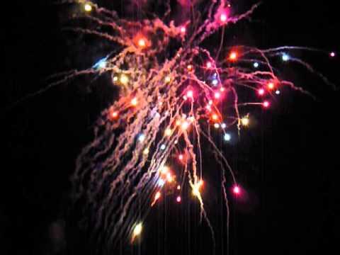 Bridgetown, Nova Scotia's Canada Day Fireworks 2014