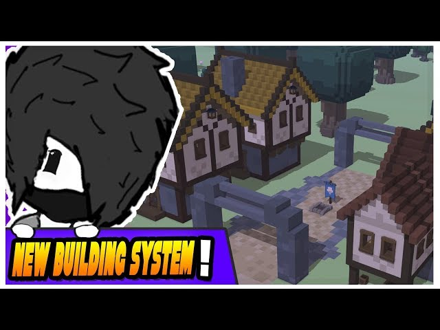 Stonehearth Alpha 24 - New Town with the New Building System - Ep 2