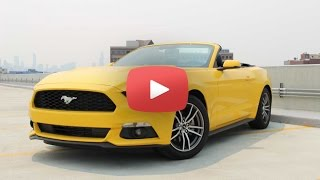 2015 Ford Mustang Convertible Review | 2015 Ford Mustang Test Drive | Chicago News