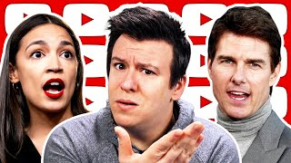 What Tom Cruise's Leaked Freakout EXPOSED, AOC OnlyFans Backlash, Shaming Controversy, & More News