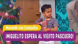 Miguelito espera al Viejito Pascuero  - Morandé con Compañía