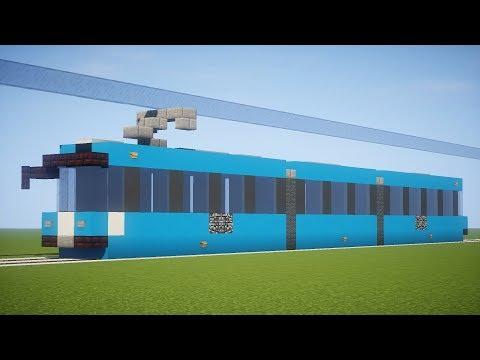 Как построить поезд в майнкрафт