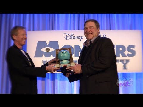 "Full ""Monsters University"" Toy Fair 2013 event with John Goodman"