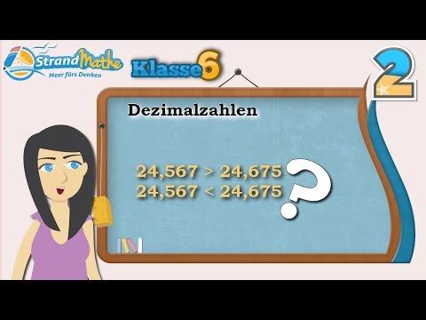 Dezimalzahlen und Brüche umrechnen    Klasse 6 ★ Wissen from YouTube · Duration:  6 minutes 21 seconds