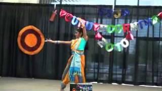 Mili dancing to Gananayakaya dheemahi from Virudh