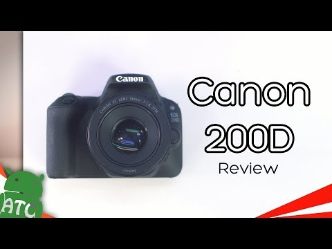 Canon 200D DSLR Review - Best Budget Camera | 4K | ATC