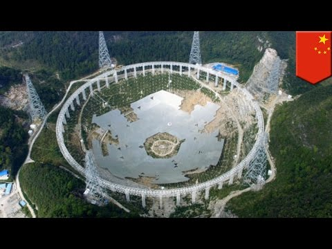 China to relocate more than 9,000 people to make way for world's largest radio telescope