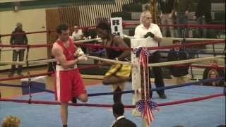 MVCC Boxing event Douglas Campese Awesome Knockout