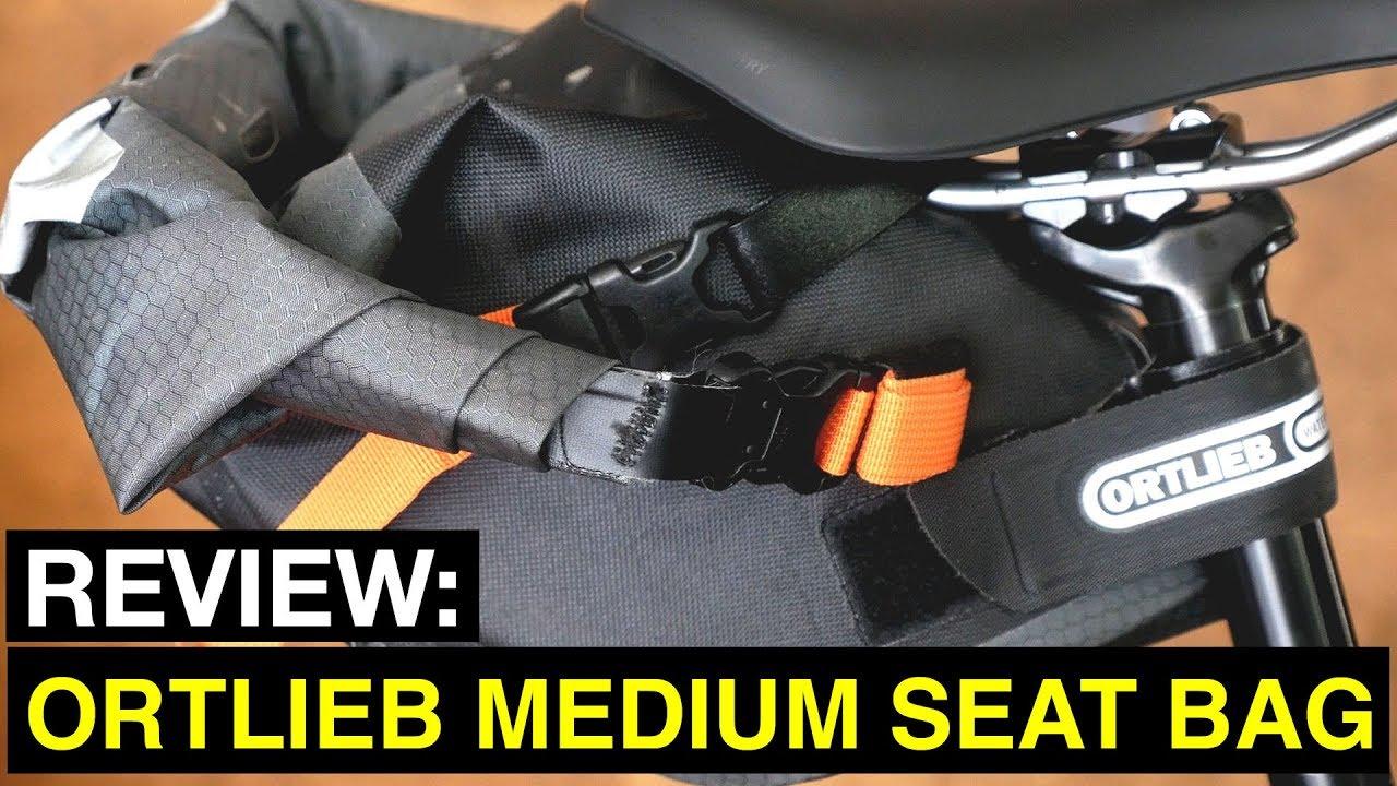 7af71ae3a90840 Review: Ortlieb Medium Bikepacking Seat Bag - YouTube