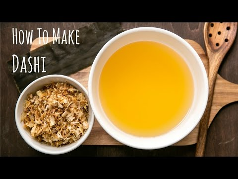 How To Make Dashi (Recipe) だしの作り方(レシピ)