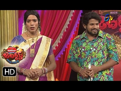 Hyper  Aadi Raijing Raju Performance   Jabardsth   18th May 2017   ETV  Telugu