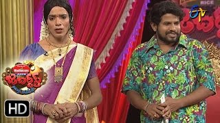Hyper  Aadi Raijing Raju Performance | Jabardsth | 18th May 2017 | ETV  Telugu