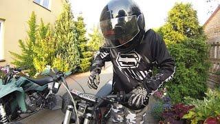 Diabolini 125cc | Mini cross | Suzuki LTZ 400 | Ride pit bikes Dirt bike exhaust | małe crossy GoPro