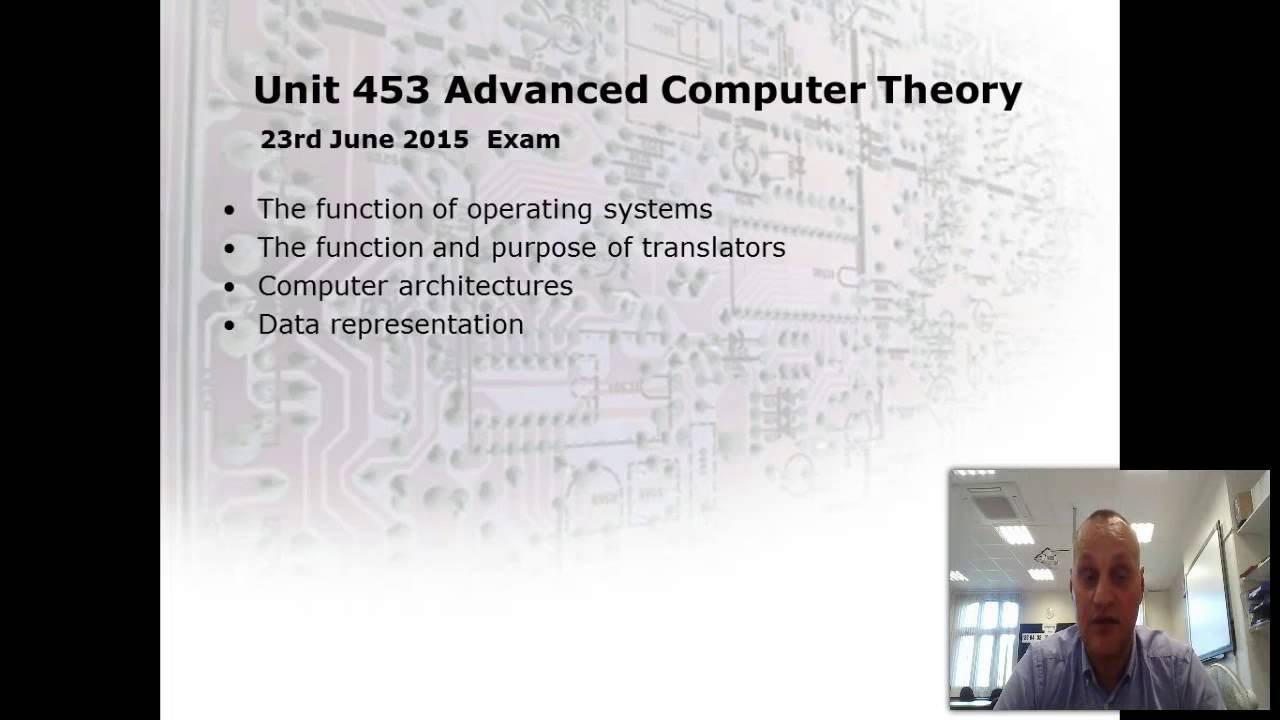 Introduction To A2 Computing