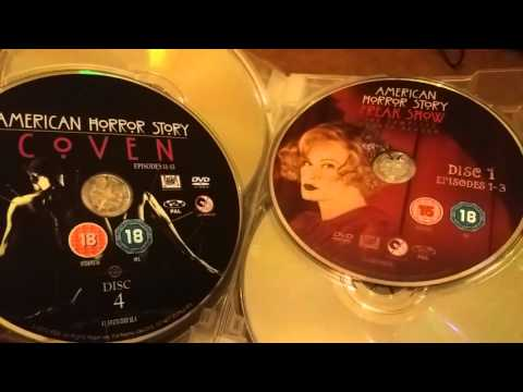 American Horror Story Dvd Series Boxset Unboxing