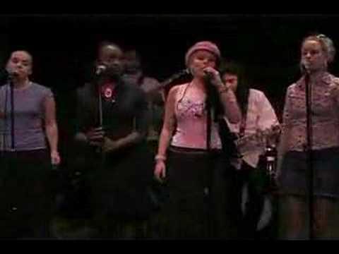 """Why u wanna mess it?"" Ivana Kotov ( top 40 student ensemble)  @ Berklee College of Music, 2003"