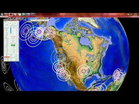 9/12/2015 -- Seattle, Washington M4.2 Earthquake -- Mt. Rainier + Glacier Peak Volcano