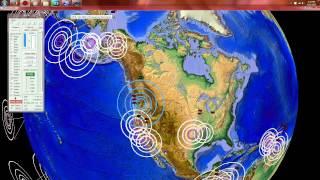 9/12/2015 -- Seattle, Washington M4.2 Earthquake -- Mt. Rainier + Glacier Peak Volcano