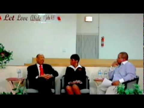 """Pastors Chat"" Rev. Moorman interviews Deacon Edward and Shirley Calahan Owners Calahan Funeral Home"