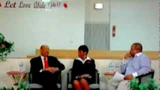 """Pastors Chat"" Rev. Moorman interviews Deacon Edward and Shirley Calahan Owners Calahan Funeral Home"