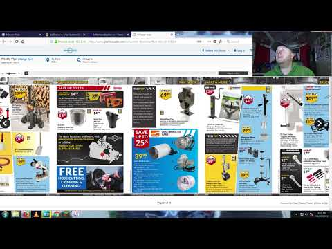 Online Princess Auto Flyer With Bill