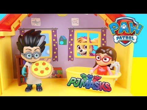 Paw Patrol Toys Turn Into PJ Masks Surprise - Ellie Sparkles