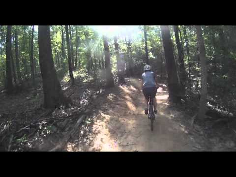 Waverly Park Mountain Biking, Louisville, KY (GoPro HD Helmet Cam)