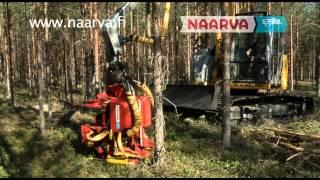 Naarva EF28 feeding energy wood head - EF28 syöttävä energiakoura(, 2014-12-15T11:21:00.000Z)