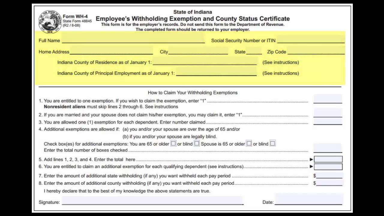 hr forms for new employees