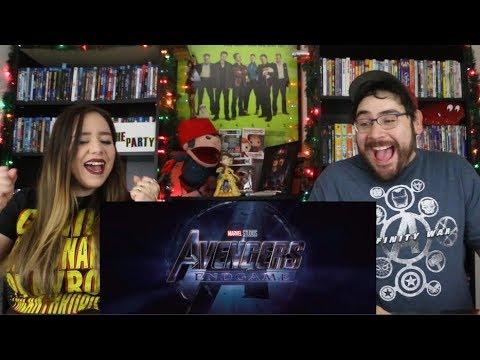 Avengers ENDGAME - Official Trailer Reaction / Review