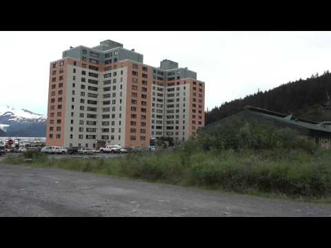 Begich Towers and Whittier, Alaska.