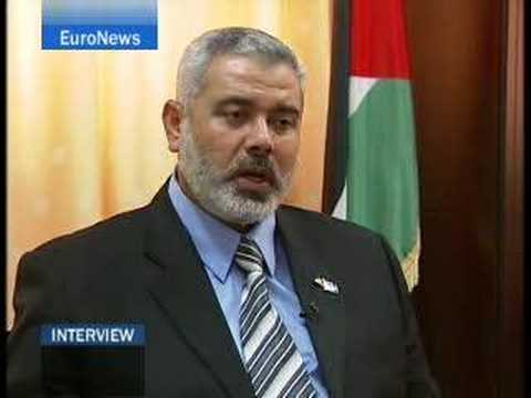EuroNews - Interview - Ismail Haniyeh - SP