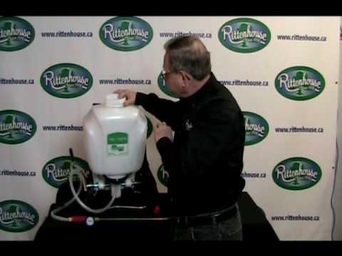 roundup pump sprayer instructions
