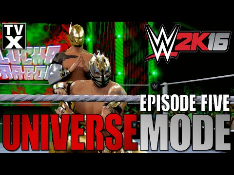 Let's Play - WWE 2K16 Universe Mode Ep.5 [WWE 2K16 Gameplay Commentary]
