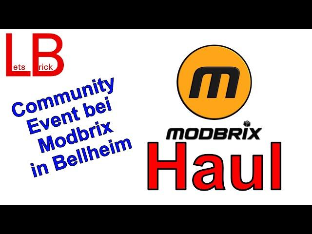 Community Event bei Modbrix in Bellheim - Haul