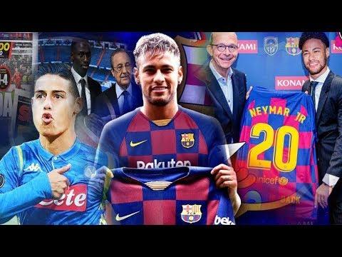 WARKA🔥FR.FT✈oo Iclaamisay Qaab Neymar ugu biirayo Barca & Real & James man utd oo rabta