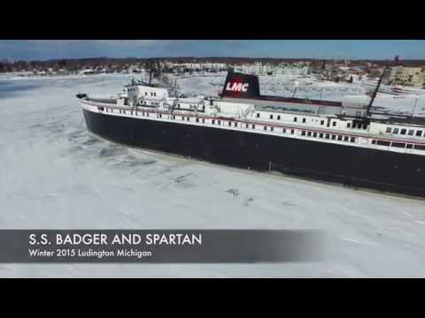 """SS BADGER AND SS SPARTAN """"Frozen in Time"""""""