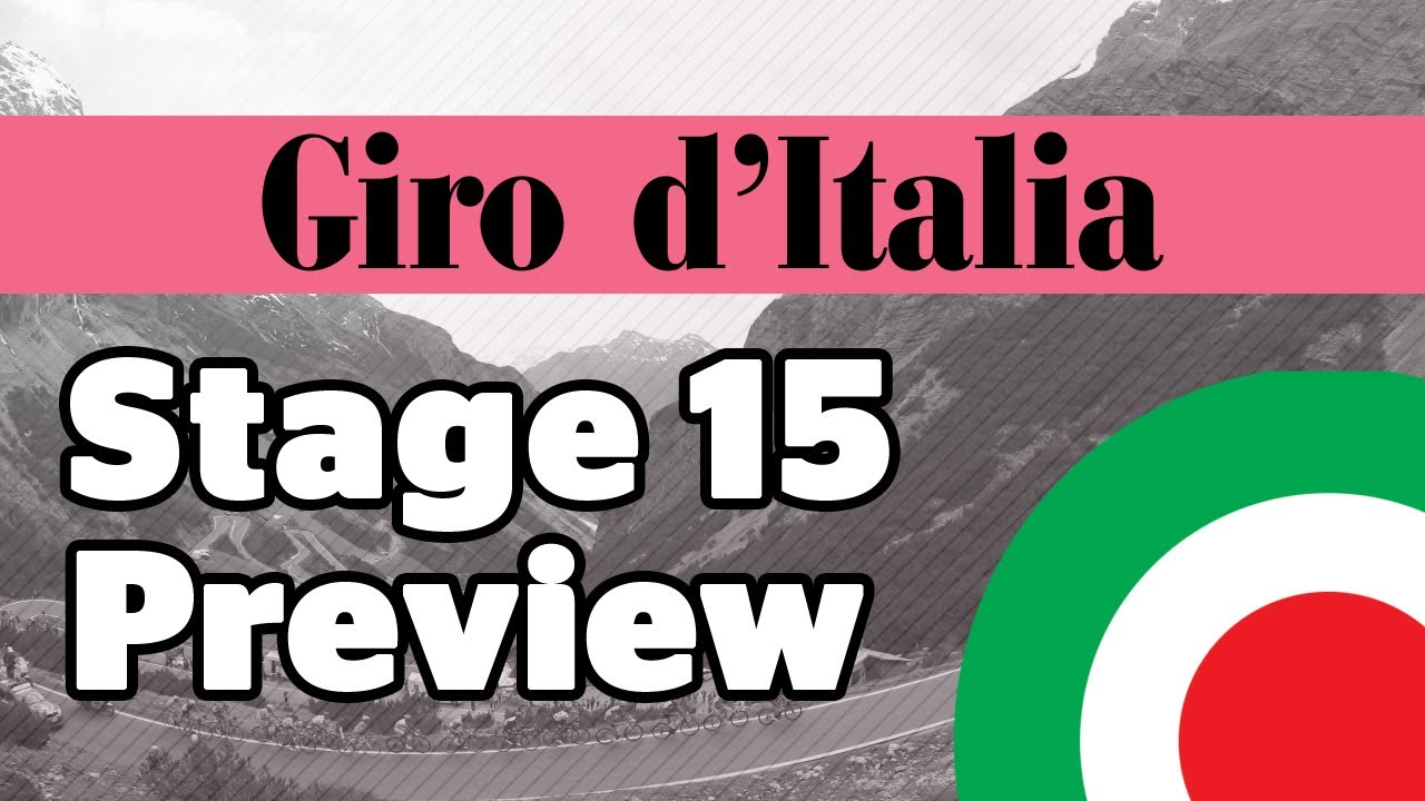 Giro d'Italia 2013 Stage 15 Preview