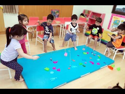 LET'S GO FISHING GAME Activity for Kids Learn numbers - Preschool Kids Activities