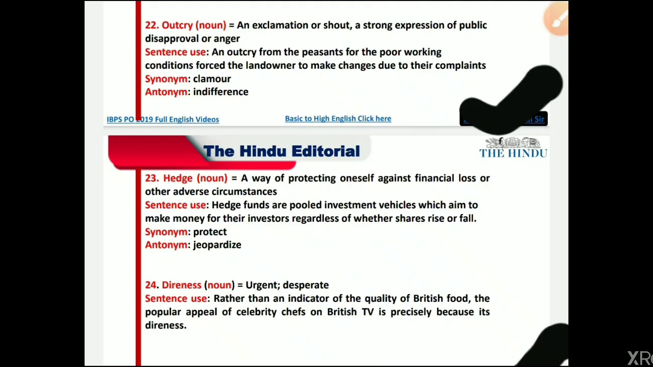 L 2 Antonym Synonym By Sehdev From The Hindu 1 April 2020 Youtube The synonym desperate synonymous definition words: youtube