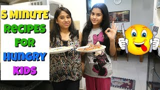 My Evening Routine   Just 5 Minute - Non Fried Snacks Recipes For Hungry Kids   Indian Mom Studio