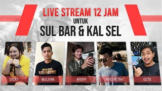 12 JAM CHARITY STREAM With EX Srimulat !
