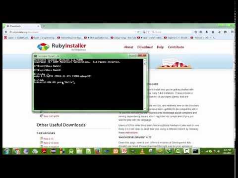 Ruby programming language tut-2