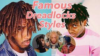 Matching Famous Rappers Dreadlock Styles #trippiered #juicewrld #xxxtentacion