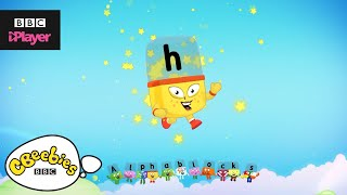 """Learn letter """"h"""" with the Alphablocks Magic Words 