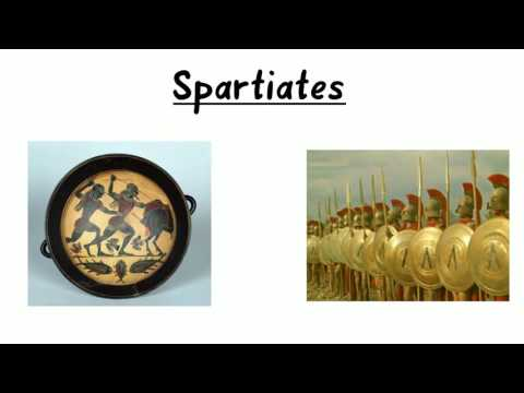 The social classes of ancient Athens and Sparta